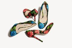 Holding court blog, Floral court shoes by Miu miu spring summer 2014