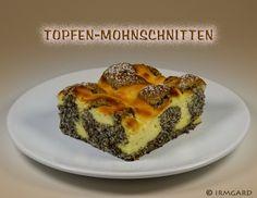 Mohn-Topfen-Schnitten - Rezept - ichkoche.at