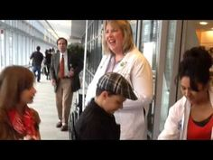 Missing Halloween already? Check out this YouTube video Child Life Specialist Heather Peach created of the Divison of Pediatric Hematology-Oncology and Department of Radiation Oncology trick-or-treat event in the Yawkey Outpatient Center.
