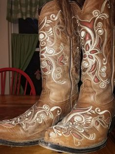 Pecos Belle Costilla Cowboy Boots, size 7 in Clothing, Shoes & Accessories, Women's Shoes, Boots   eBay