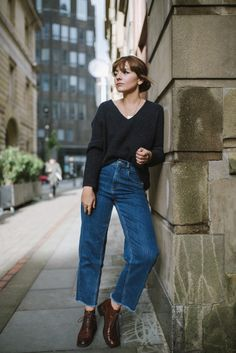 Sunday simplicity - I've had my first really lazy weekend in a long while & it feels good ☺️🍁 Grunge Look, Style Grunge, 90s Grunge, Soft Grunge, Mode Outfits, Grunge Outfits, Casual Outfits, Fashion Outfits, Fall Winter Outfits