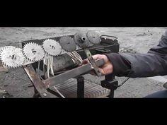 мангал для лентяев своими руками - YouTube