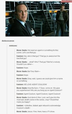 -If only this worked for all our favorite characters- Marvel is generous like that. <--Phil Coulson actually Marvel Jokes, Marvel Funny, Marvel Dc Comics, Marvel Avengers, Avengers Texts, Marvel Heroes, Marvel Characters, Nos4a2, Agents Of Shield