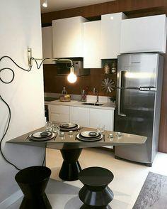 Inspiração ♡ #interiores #design #interiordesign #decor #decoração #decorlovers #archilovers #inspiration #ideias #cozinha #kitchen