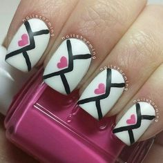 valentines day nail designs (But maybe just 1, as an accent nail)