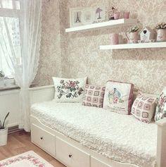 Genç Odası Baby Room, Girl Room, Princess Room, Teenage Room, Toddler Rooms, Balcony, New Homes, Sweet Home, Interior