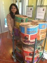 Posts about ~ Animal Rescue… Recycle those girl scout cookie boxes for kitty ! … mightydogshasta ~ written by Scout Mom, Girl Scout Swap, Daisy Girl Scouts, Girl Scout Leader, Girl Scout Troop, Junior Girl Scout Badges, Girl Scout Juniors, Girl Scout Daisy Activities, Girl Scout Crafts