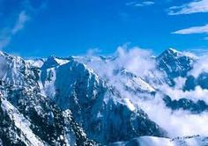 This is the ice moutains in Kachin state