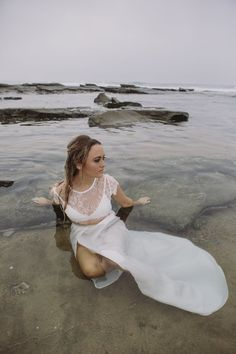 Trash the Dress in style.  Gorgeous natural dewy make up. Goddess. Make up by Kacey Pecci https://www.facebook.com/Kacey-Pecci-Makeup-Artist-394747677307913/?fref=ts