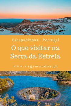 Visitar Serra da Estrela: Roteiro de 2 e 3 dias para descobrir a Serra How To Speak Spanish, What A Wonderful World, Beautiful Landscapes, Travel Guides, Wonders Of The World, Wanderlust, Beautiful Places, Places To Visit, Castle