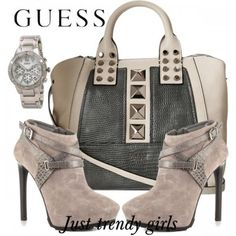 Guess handbags and shoes collection 2015 | Just Trendy Girls