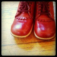 Rode schoenen