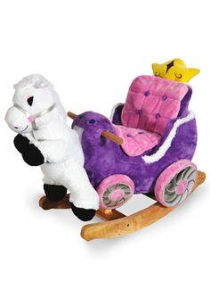 ROCKABYE TOYS Princess Carriage Rocker $80 @ideeli