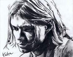 Curt Cobain, Nirvana by ~Katya-1 on deviantART