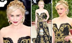 MET GALA 2018 saw the red carpet awash with incredible outfits from A-list guests, with Game of Thrones' Emilia Clarke leading the charge with a jaw-dropping number centred on the theme Heavenly Bodies: Fashion and The Catholic Imagination.