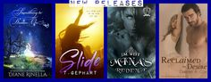 New Releases from Diane Rinella, T. Gephart, J.M. Witt, and Desiree A. Cox