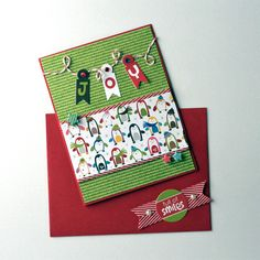 Joy holiday card.