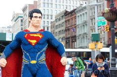 LEGO Superman in NYC!