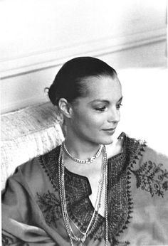Romy Schneider photographed by Giancarlo Botti, Paris, 1975