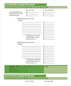 Monthly Budget Worksheet, Excel Budget Template, Budgeting Worksheets, Net Income, Household Income, Budgeting Finances, Wise Words, Printables