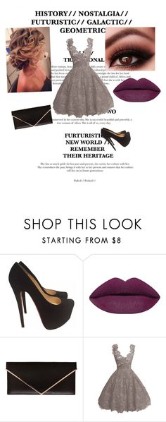"""""""Untitled #95"""" by rebeccaball37 on Polyvore featuring Christian Louboutin and Givenchy"""