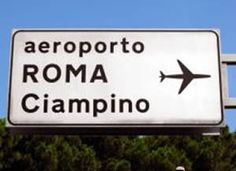 Ciampino airport, I've been here on my trip to Rome in October '15