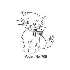 Pattern Detail | Kitten | Needlecrafter