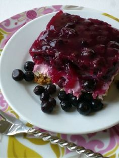 Saskatoon Berry Cheesecake (1) From: Wheat Free Mom, please visit