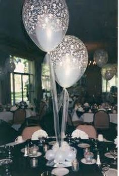 80 Simple And Beautiful Balloon Wedding Centerpieces Decoration Ideas