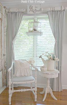 love the window treatment
