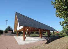 Halle Polyvalente de Montierchaume - 2NE architecture - Bruno et Gabriel Robinne