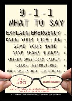 I'd like to do an aerial drop of MILLIONS of these all over town so Lorna would not have to waste her time on non emergencies!  Pay attention people. 411 Information - 911 EMERGENCIES ONLY