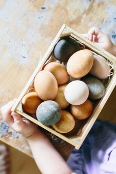 one claire day: naturally dyed eggs Egg Dye, Claire, Easter, Breakfast, Nature, Food, Morning Coffee, Naturaleza, Easter Activities