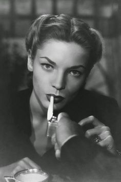 Lauren Bacall  #wow .. Look at this women back then