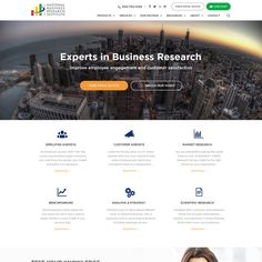 Revamp Site Design for the National Business Research Institute by apollo#16