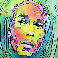 Bob Marley I by Dean Russo