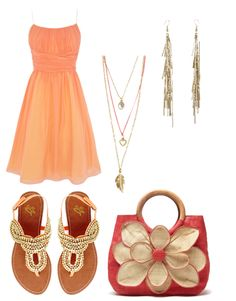 Summer chic outfit perfect for a picnic on the beach