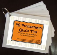48 Promethean Quick Tips for working with ActivInspire and your Promethean Board