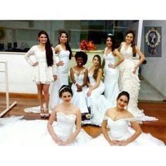 Modelos com vestidos de noiva by Atelier S&R