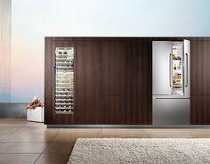 Stylish #kitchen #interior. // Stylische #Kuechen-Einrichtung. #enjoysiemens