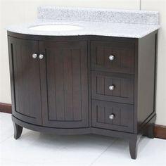 Lanza WF6823-42/DC Bathroom Vanity $1179 Bethel white granite top white glazed sink but no faucet 2-4 weeks