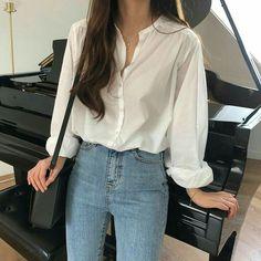 Korean Girl Fashion, Korean Fashion Trends, Korean Street Fashion, Kpop Fashion, Kawaii Fashion, Korea Fashion, Woman Fashion, Asian Fashion Style, Ulzzang Fashion Summer