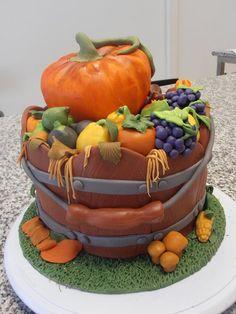 Bolo Outono (Fall cake)  Cake by Ana Barrote