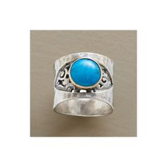 EYE OF THE STORM RING - Rings - Jewelry   Robert Redford's Sundance... ($275) via Polyvore