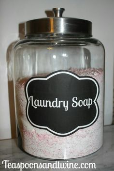 Laundry room container