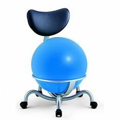Palosit Balstoel 142A (Pallosit Pallone) (zitbal) Blauw. Das pas handig Pilatus bal opbergsysteem en gezonde stoel!
