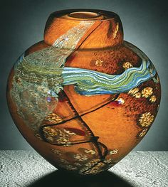 Sahara Emperor Bowl, Randi Solin. Available at Adelman Fine Art, San Diego. www.adelmanfineart.com