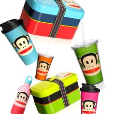 Paul Frank  Cheeky Monkey Cheers Meals