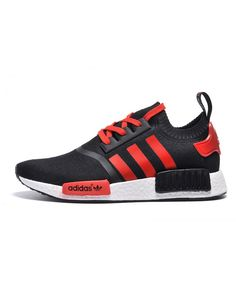 6b5fdc998 Adidas NMD Runner men women Black Red Sale Adidas Nmd R1