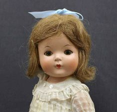 "NEAR MINT EFFANBEE VINTAGE COMPOSITION DOLL - - ""PATRICIA"" - Circa 1930's #Effanbee"